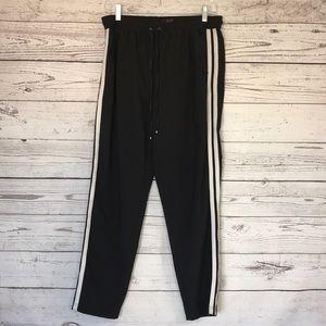 WHBM Black The Jogger Pants Size 6